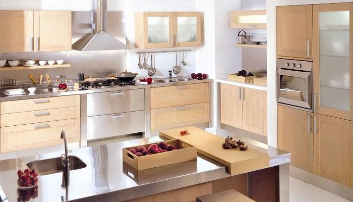 cocina acabados madera