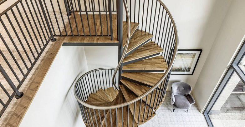 escaleras caracol barcelona