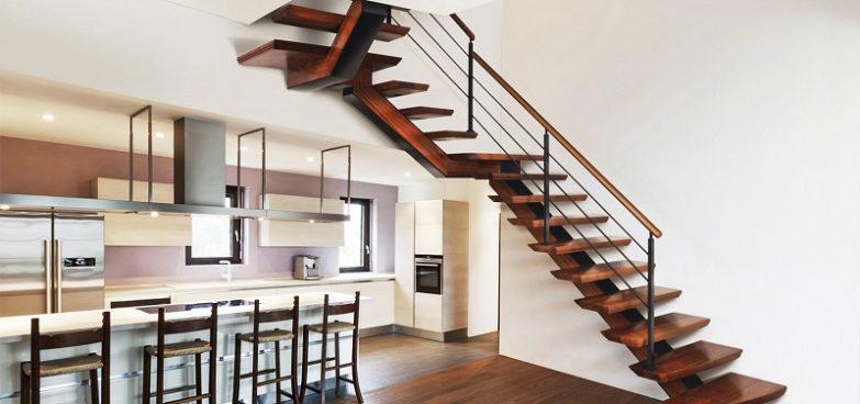 escaleras de madera en barcelona