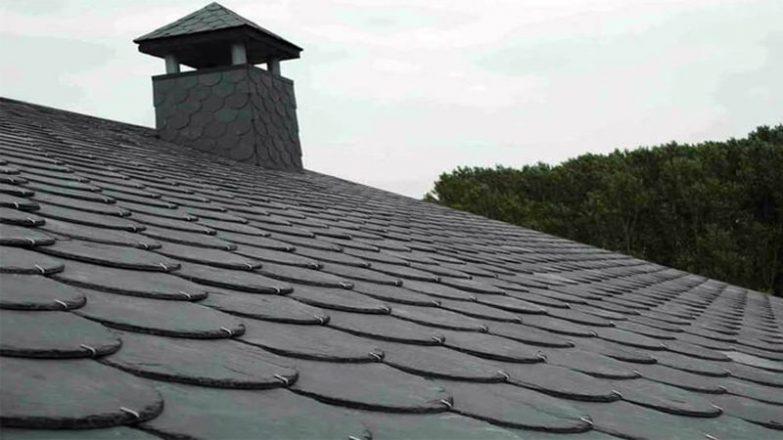 colocar la pizarra en un tejado