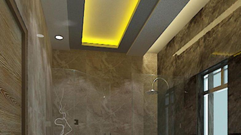 colocar pladur en el techo de un baño