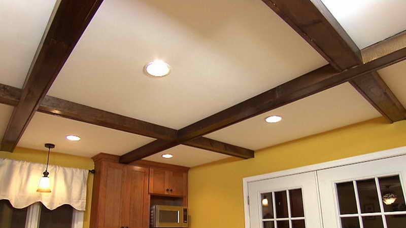 hacer un falso techo de madera