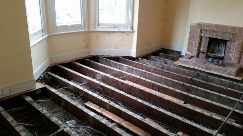 insonorizar el suelo de un piso