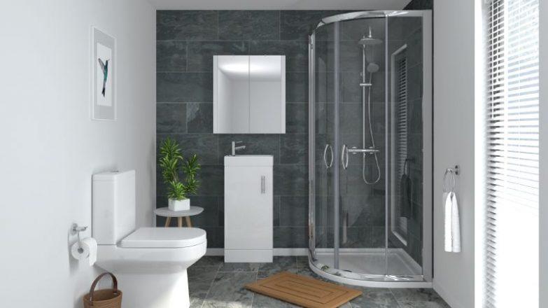 C mo instalar una mampara de ducha semicircular - Instalar una mampara de ducha ...