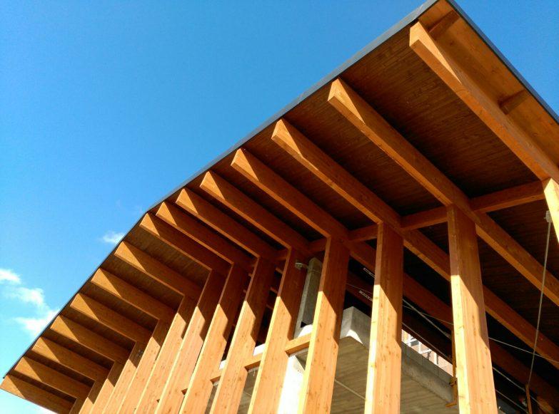 tejado madera