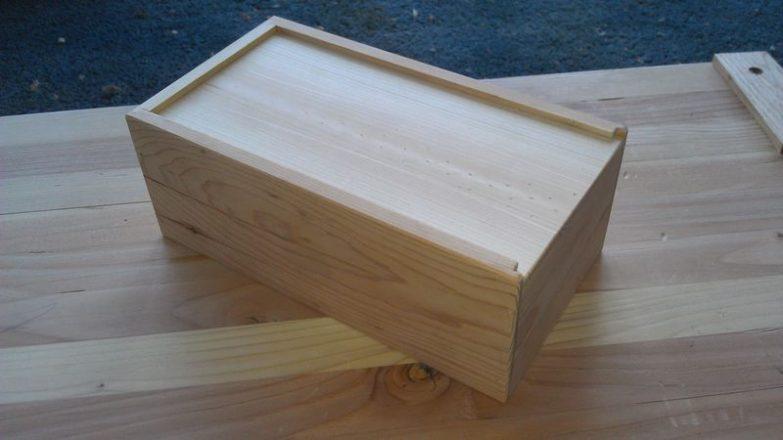 decorar una caja de madera con fotos