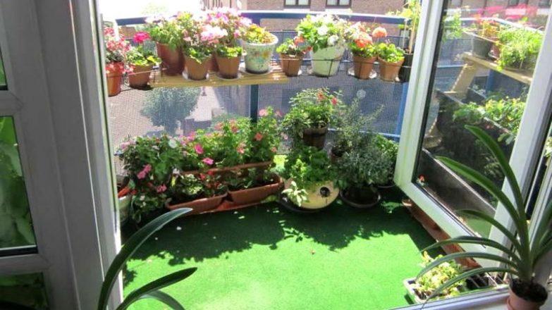 decorar una terraza pequeña con poco dinero