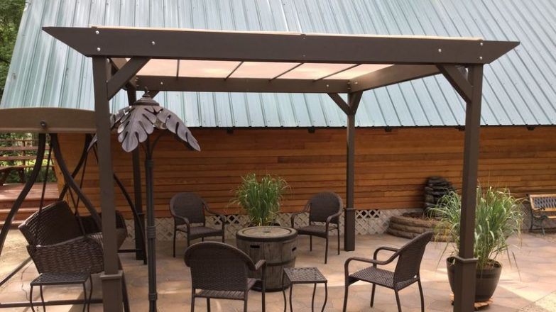 hacer un techo de madera para terraza
