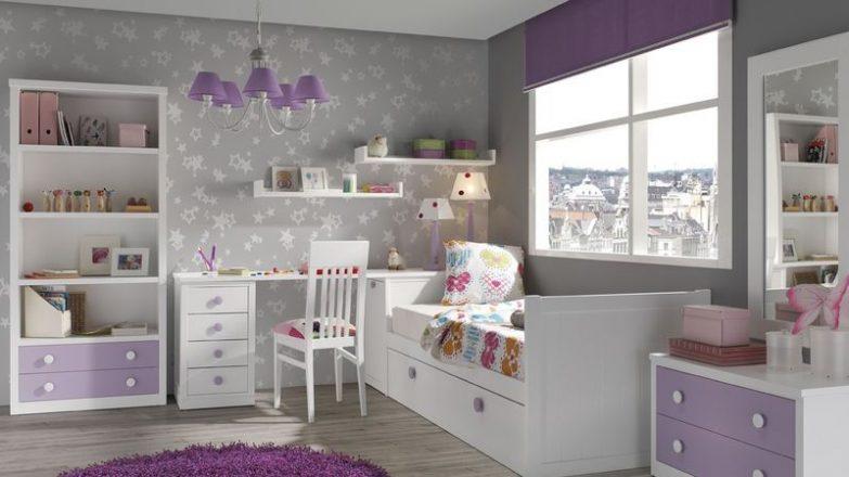 pintar las paredes de un dormitorio juvenil