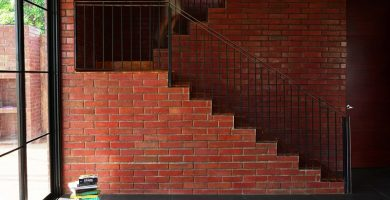 como hacer escaleras de ladrillos
