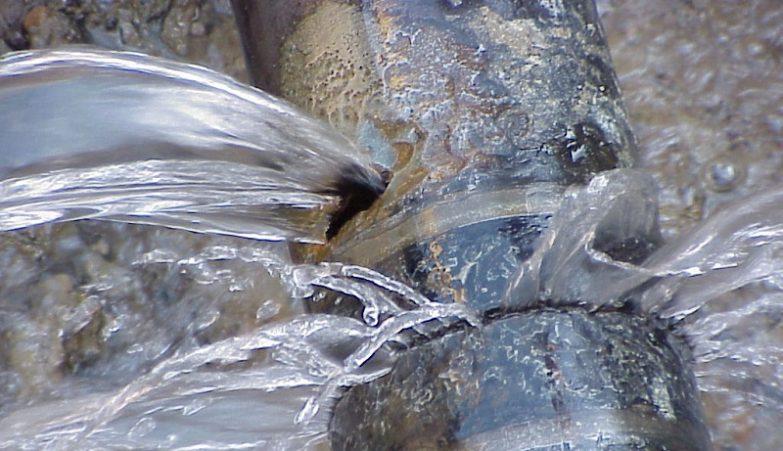 fugas de agua en tuberias enterradas